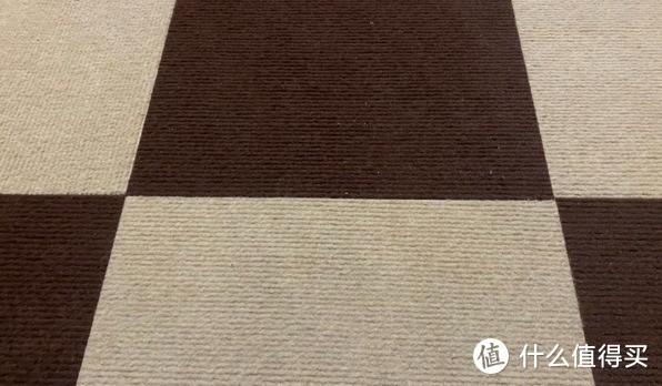 清理后的地毯