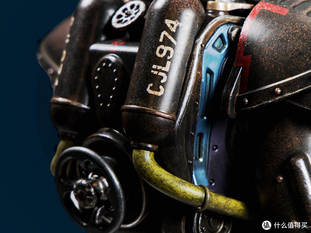 """氪金装备实体化:threezero 辐射""""黑鸟""""涂装动力装甲1/6可动人偶"""