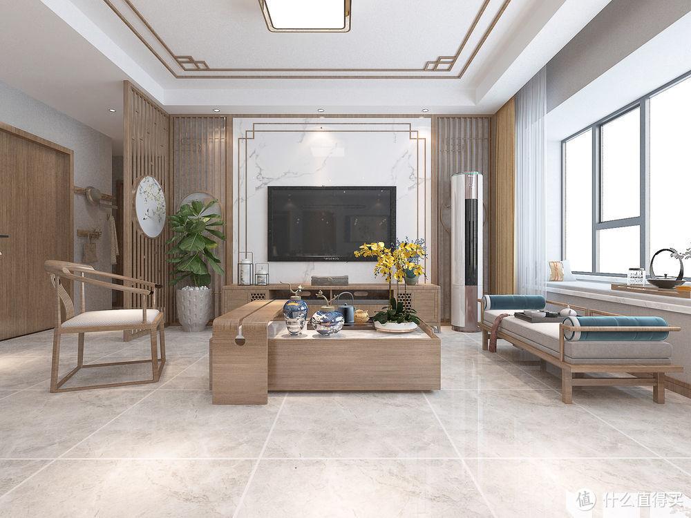温馨十足的中式风,原木色作为主色调,细节之处尽显品位,很喜欢