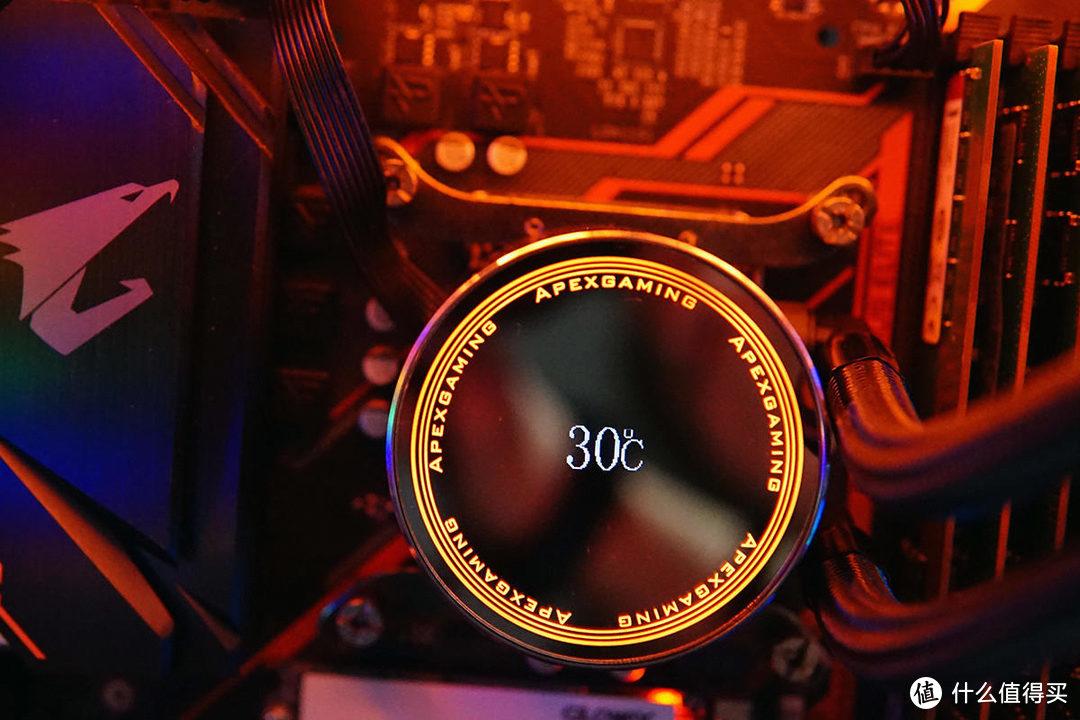 实时水温+RGB信仰灯效,美商艾湃360 PRO水冷初体验