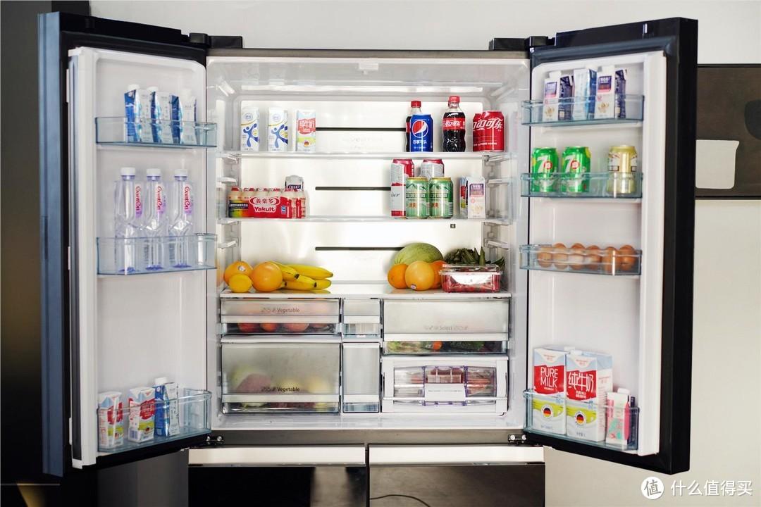 家庭保鲜库-日立冰箱十字门小旗舰机R-FBF570KC冰箱使用体验