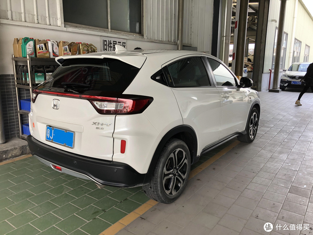 我的东风本田XR-V购于2016年8月份,属于1.8EXI自动舒适版,现在的总里程是40000公里,平时主要用来上下班代步。