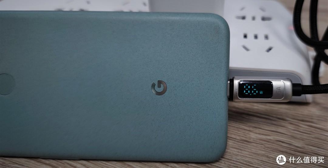 """麦多多自带""""功率计""""USB-A TO USB-C 5A大电流数据线开箱体验"""