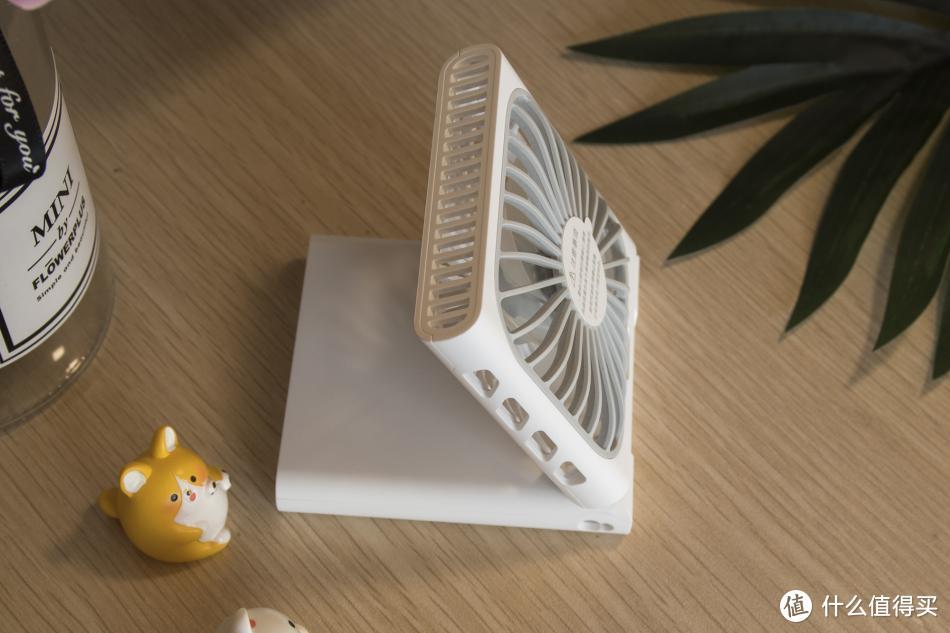 炎炎夏日外出就靠它来续命了--紫米可折叠挂脖风扇