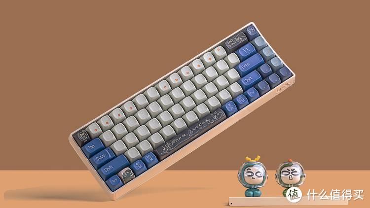 始于颜值,终于情怀,洛斐小翘这款键盘我看行