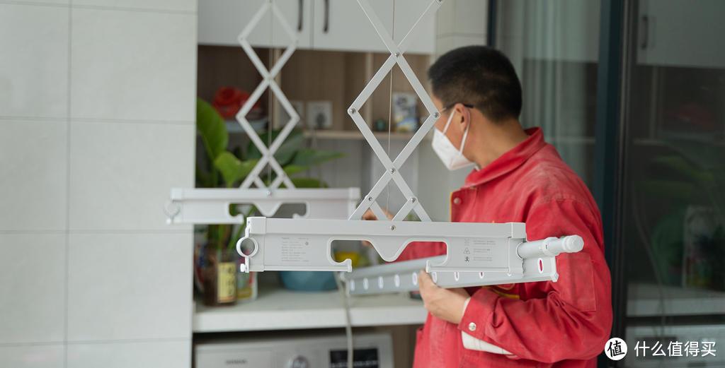 喜欢就再爱一次?为大阳台再装一台Aqara智能晾衣机Lite