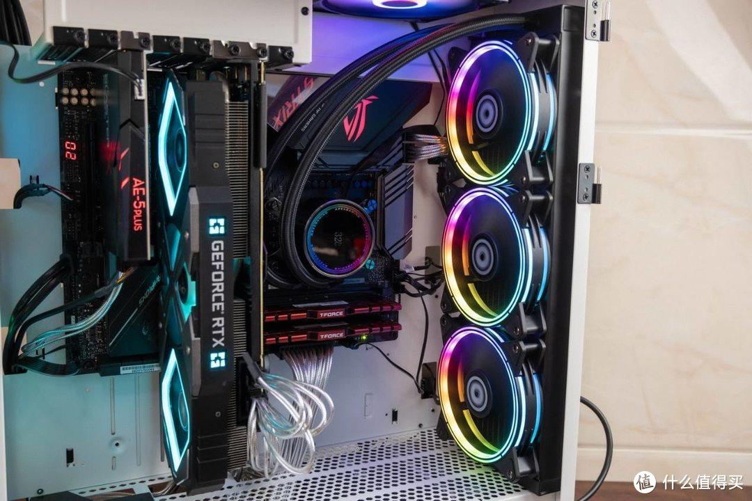 酷炫灯效,高效散热,艾湃电竞TITAN-360 PRO散热器装机体验