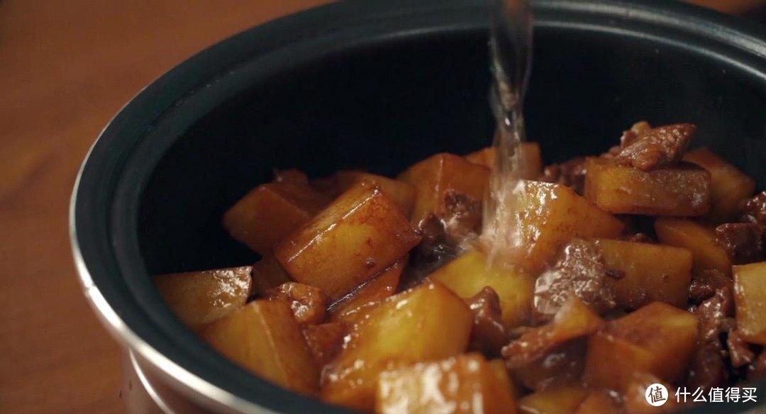 电饭煲羊肉焖饭,有点新疆手抓饭的感觉