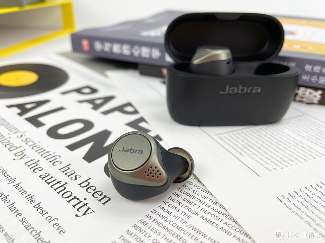 体验45种安静,Jabra Elite 75t主动降噪耳机晒物