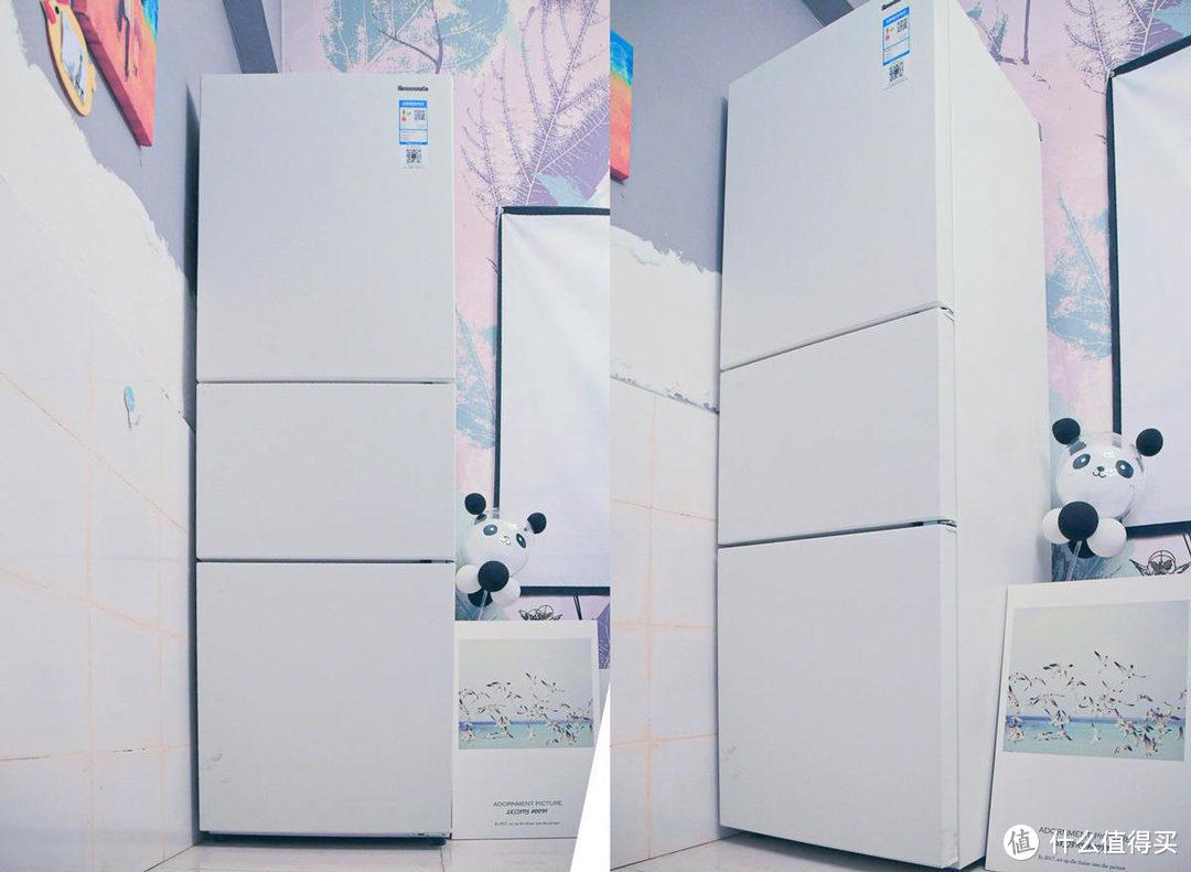 初入社会人的第一台冰箱,松下三门超薄变频除菌冰箱NR-EC26WPA-W体验