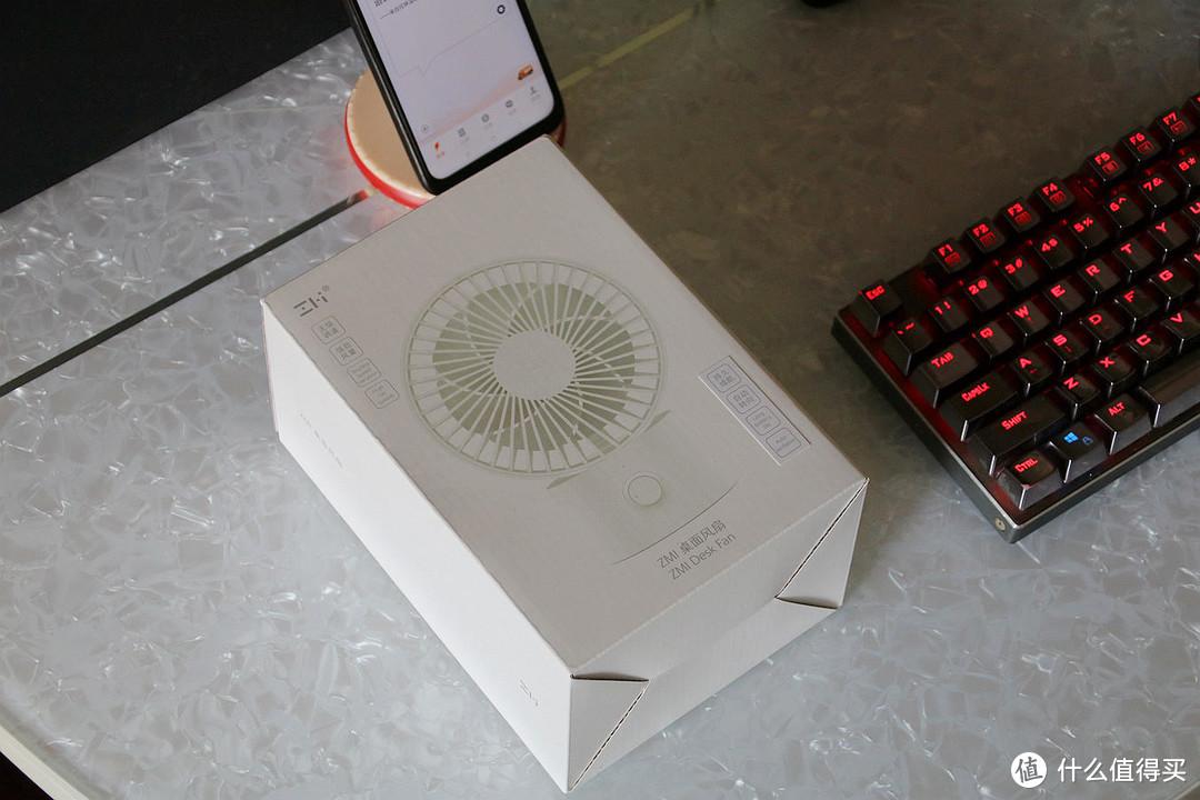 使用时它是桌面上的小风扇,闲置时它就是一件艺术品