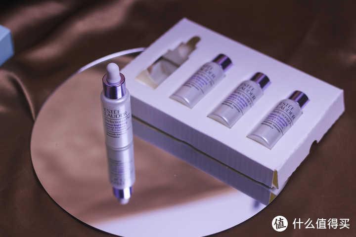 雅诗兰黛的美白淡斑双弹组合(美白面部精华和美白弹安瓶精华液)简单体验