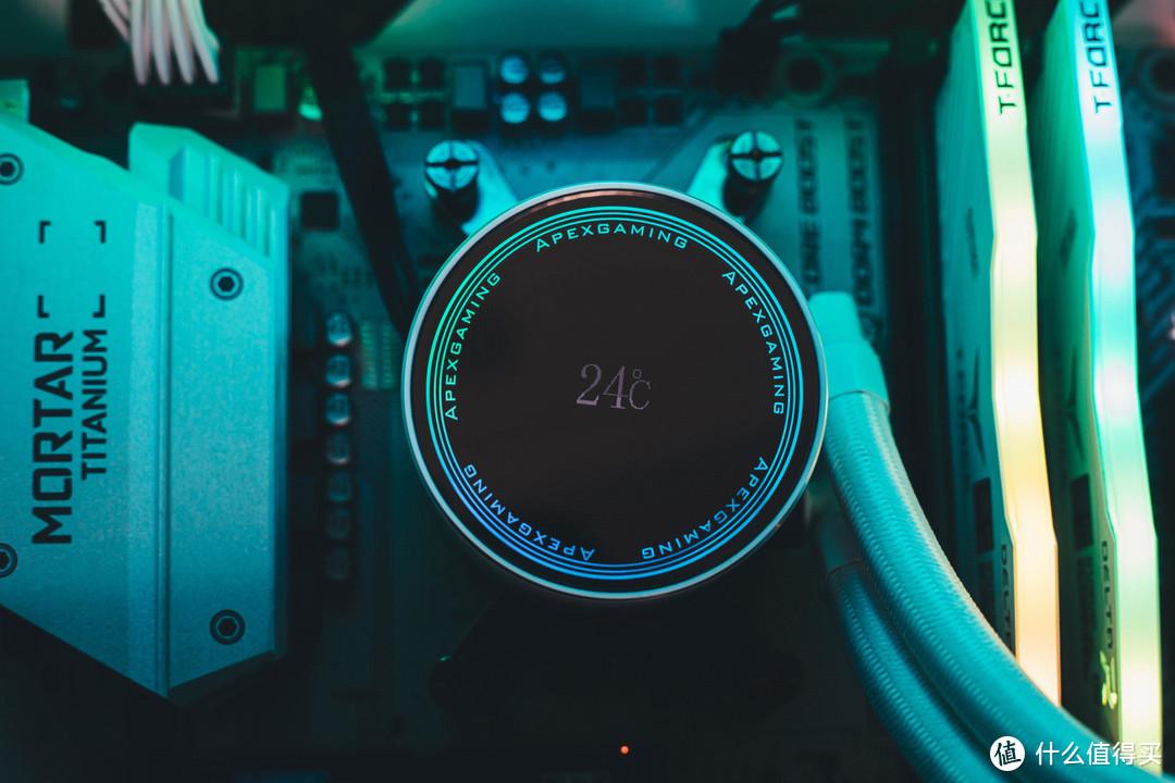 极致降温,闪耀其中-艾湃电竞NanCool 360 CPU水冷散热器