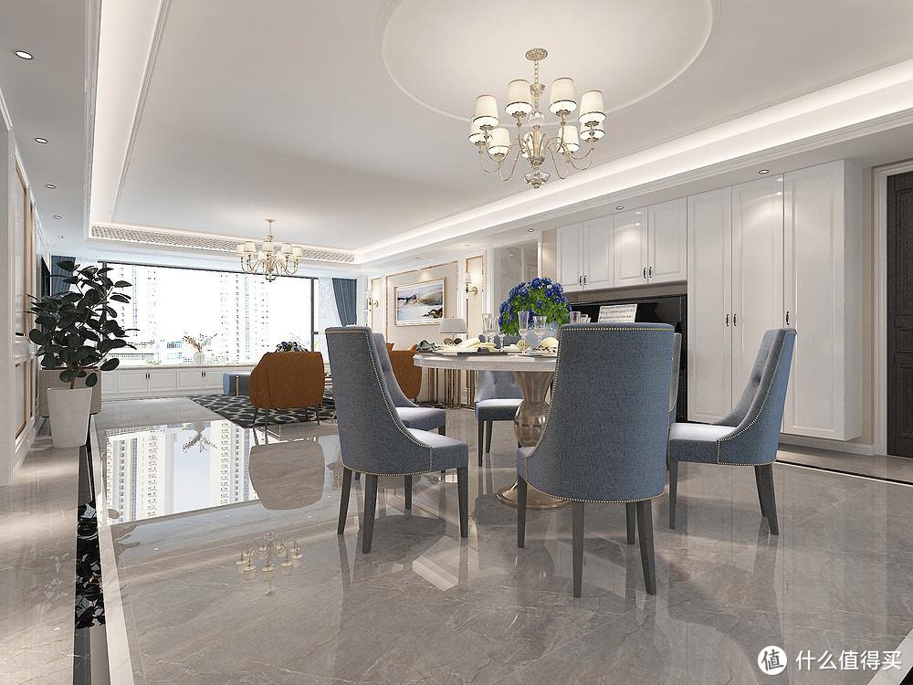 美式和轻奢融合在一起,让家里充满温馨和时尚,她家装修让人羡慕