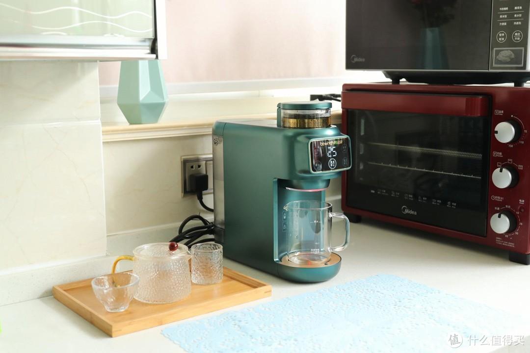 刷几条微博的时间制好一壶科学的茶——碧云泉茶艺机M5