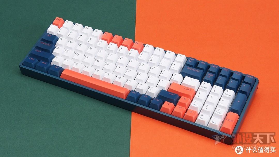 IQUNIX F96珊瑚海双模机械键盘:现已搭载TTC轴体