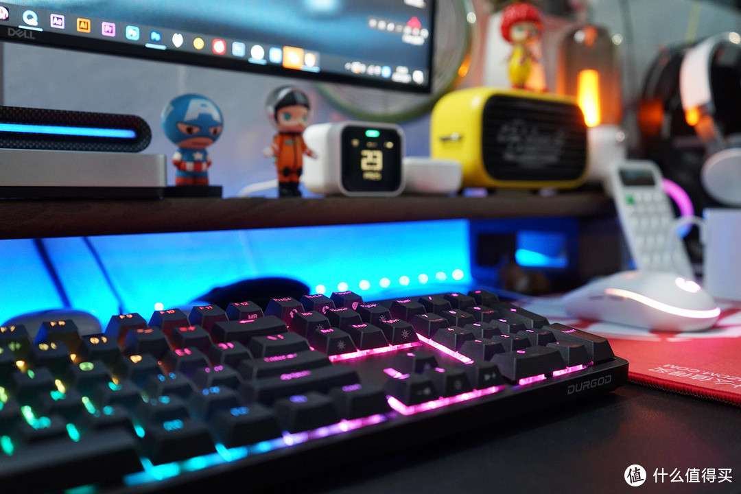 杜伽k310 RGB NS机械键盘:国潮好物推荐,樱桃静音红轴实力不凡
