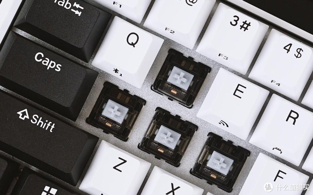 杜咖K330W迷你机械键盘赏评:颜值满分,定制机械轴,三模连接,全键无冲!