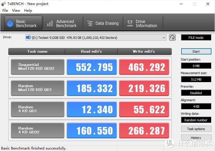 入门级SSD的表现如何?台电稳影系列 512GBSSD实测分享