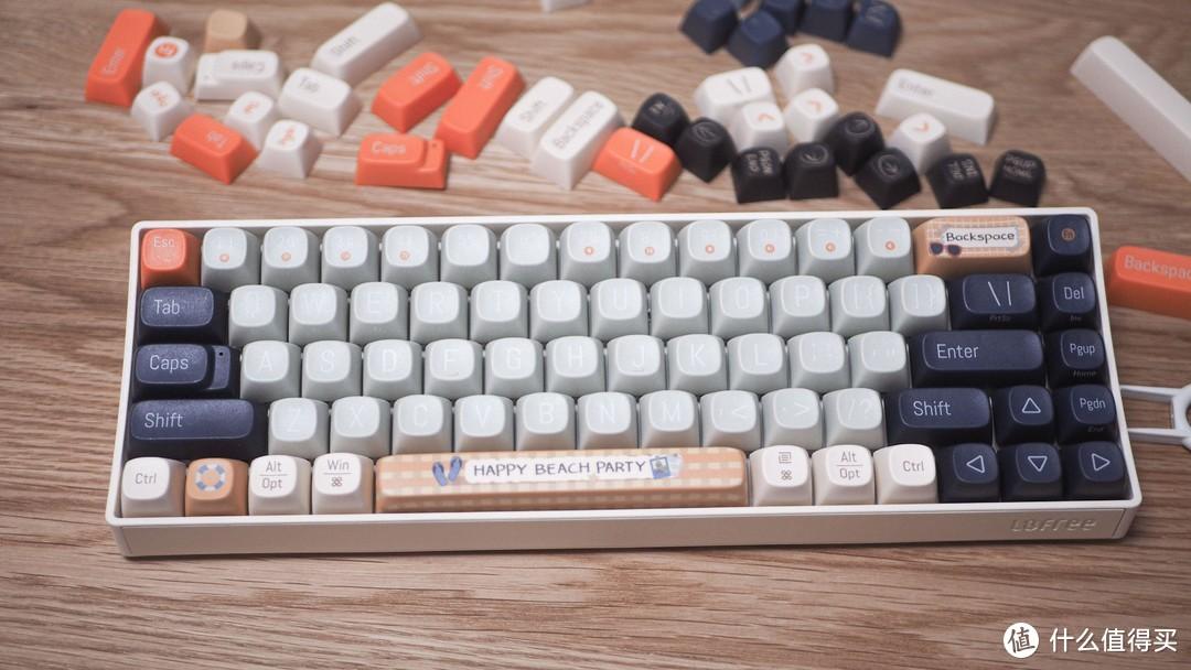 可在线DIY的高颜值机械键盘,洛斐小翘初体验