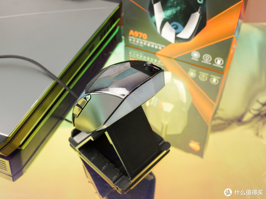 精确制导--达尔优A970有线游戏鼠标试用分享