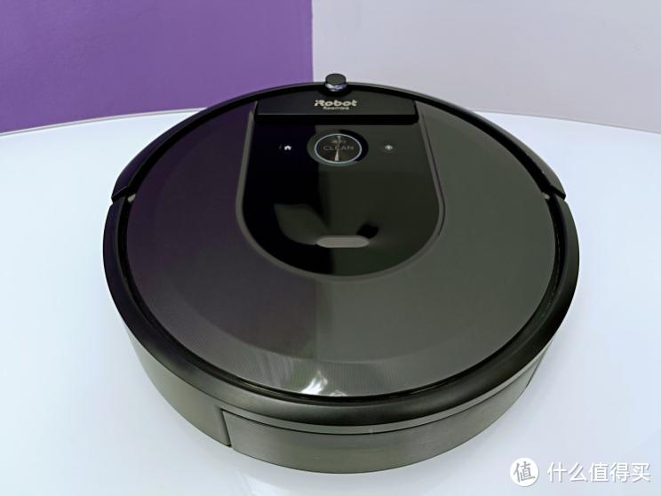 定义清洁新玩法儿—自带摄像头可定时定区打扫卫生的iRobot i7+ 扫地机器人