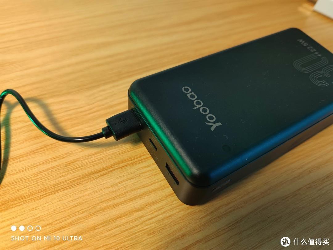 也可以直接用任意充电宝驱动。