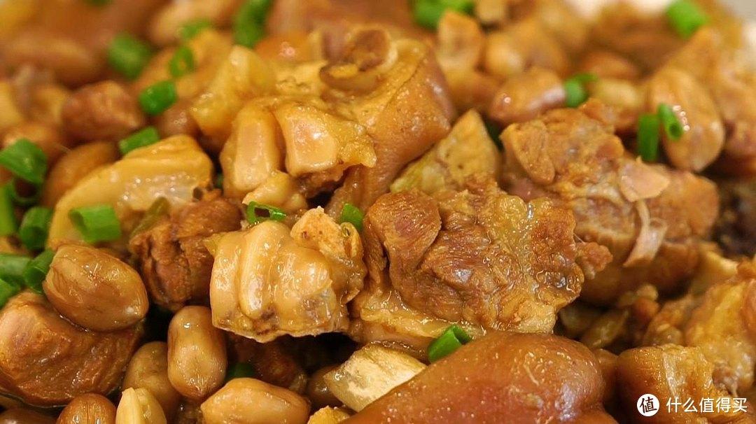 电饭煲花生焖猪蹄,软烂又入味