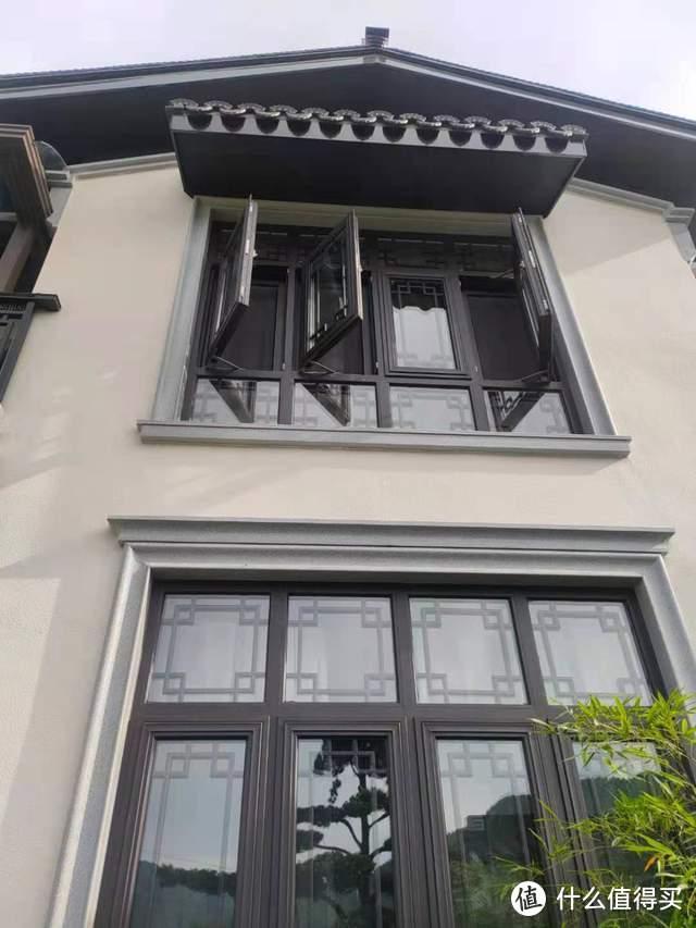 江南意境的窗景+断桥窗的性能,梅雨季节的中式窗真的绝绝子!