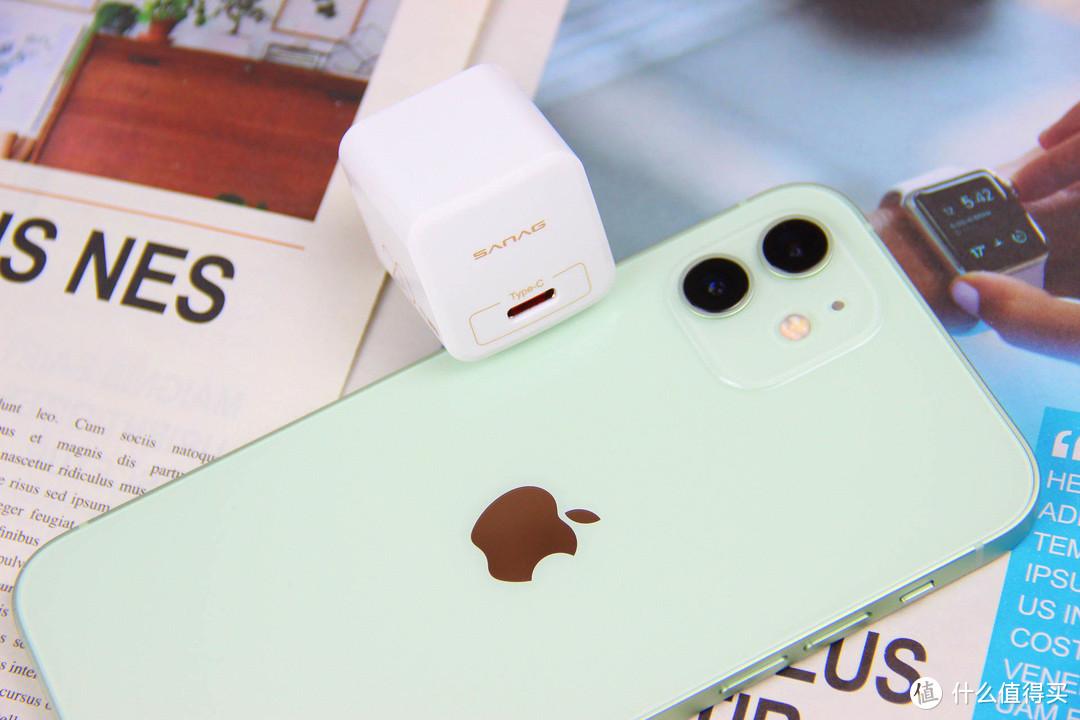 "Iphone12的""超级快充""好拍档 Sanag N1 你值得拥有"