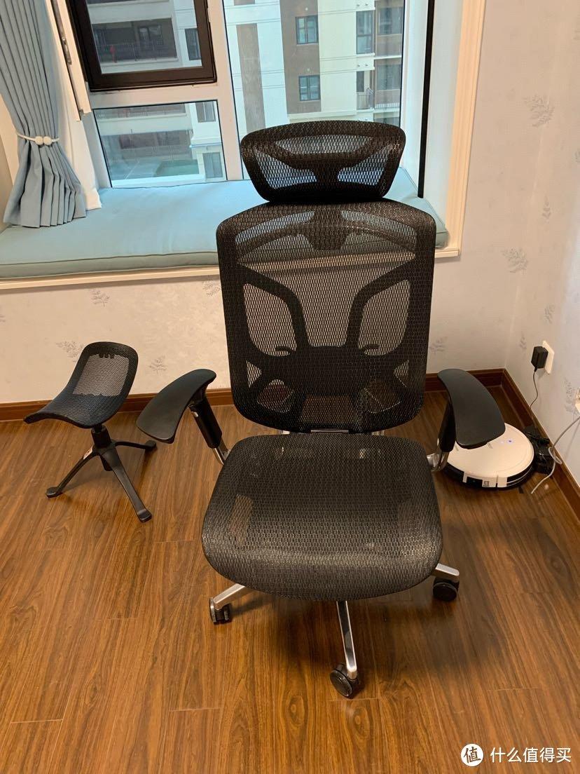 我的第一把人体工学椅-有谱蝴蝶