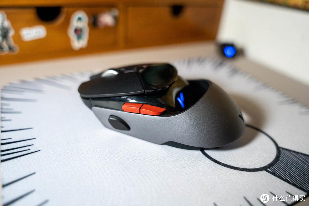 我的鼠标带显示屏,雷柏VT960鼠标使用分享