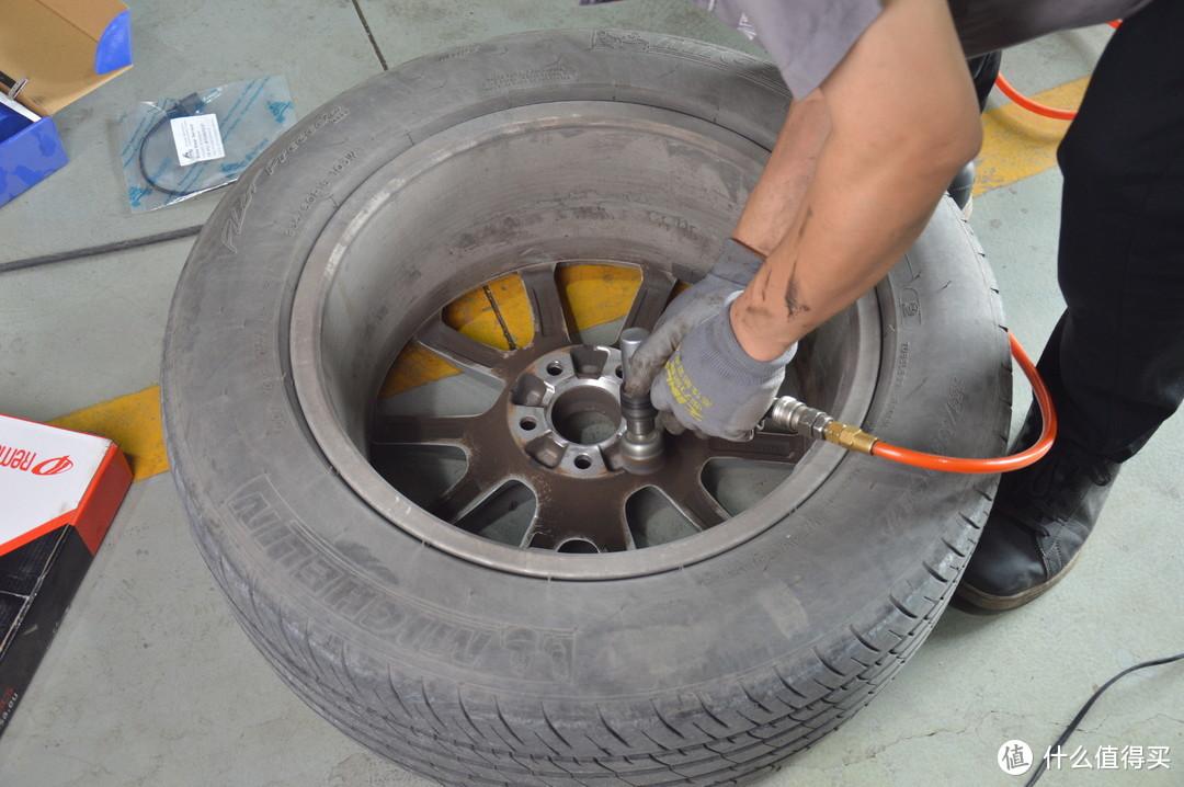 轮毂内侧也给它打理打理
