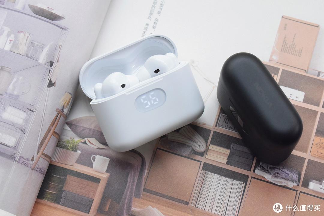 数显屏,小确幸!诺基亚E3102真无线耳机体验