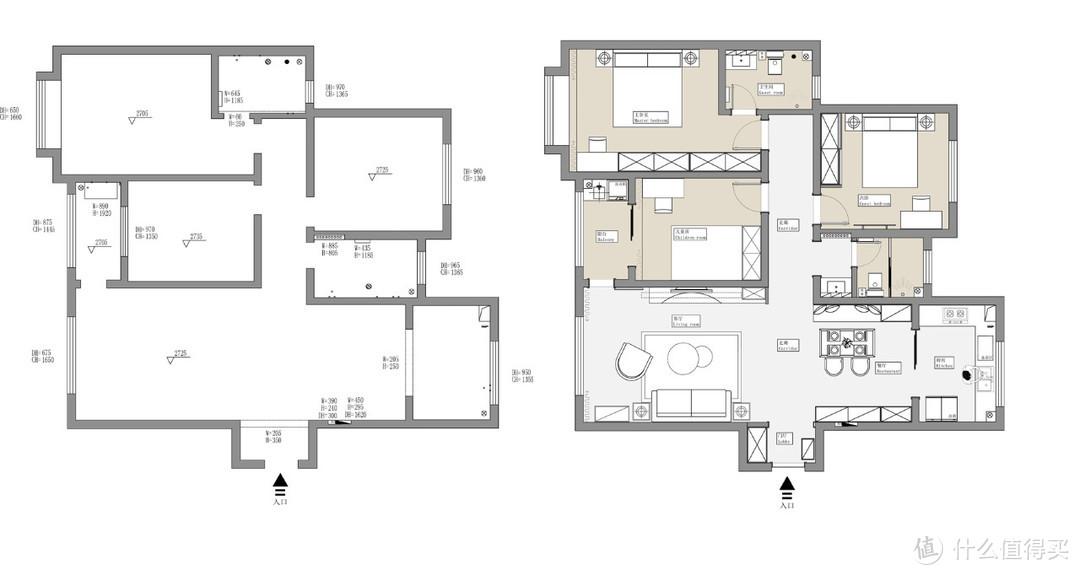 理想中的家 现代极简风高级感拉满,这个家我想搬进去!