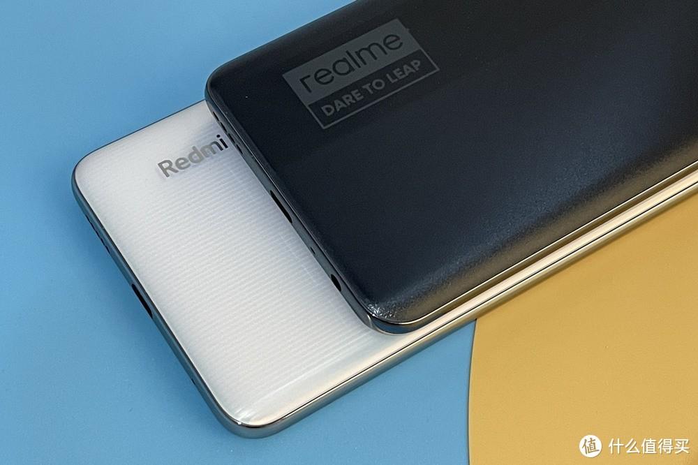 (▲左为Redmi Note 10 Pro,右为realme GT Neo)