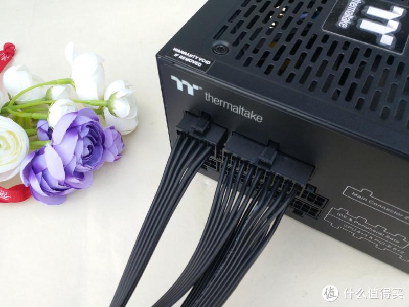 智能温控 稳定静音,TT钢影650W白金牌模组电源