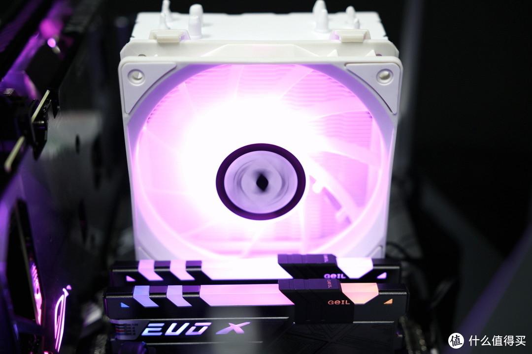 散热器中的一股清流,颜值爆表风冷散热ZEROZONE泽洛P4纯白版