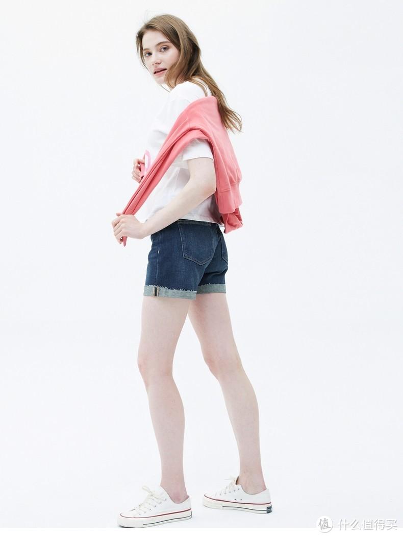 Gap短裤清凉一夏~ 短裤穿出时尚感,618返场之女装清凉短裤清单~