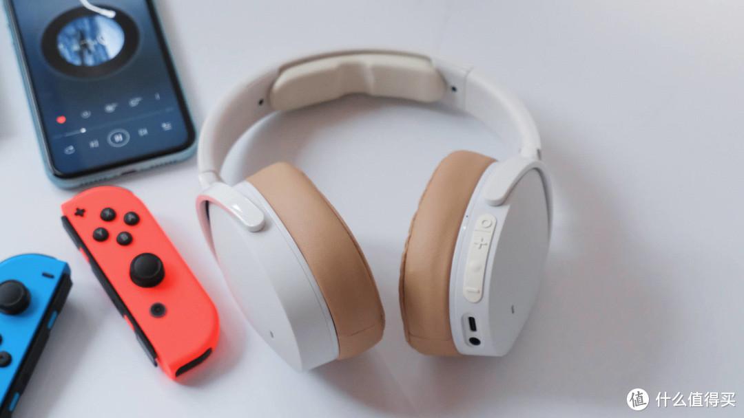 时尚与音质的完美结合,Skullcandy Hesh ANC头戴式蓝牙降噪耳机