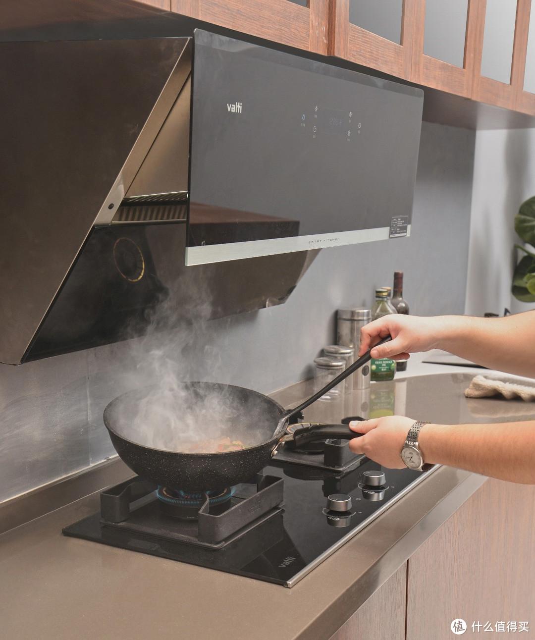 618第一单速晒:大火力、大吸力、速清洁,送父母的华帝烟灶使用测评
