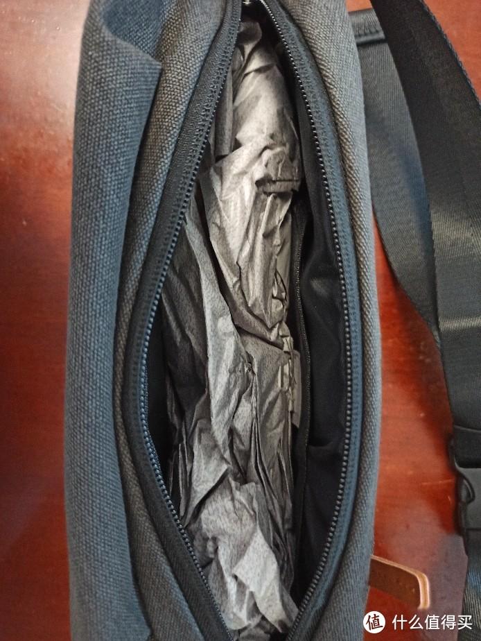 618种草的波斯丹顿男士帆布胸包