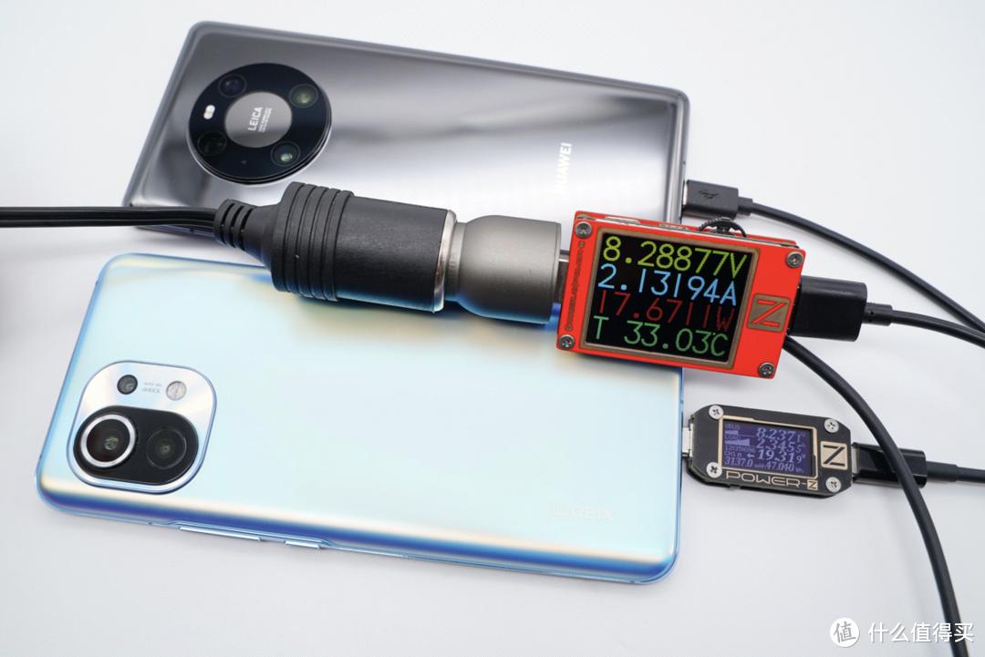 可以同时为2台手机提供快充的车充体验评测