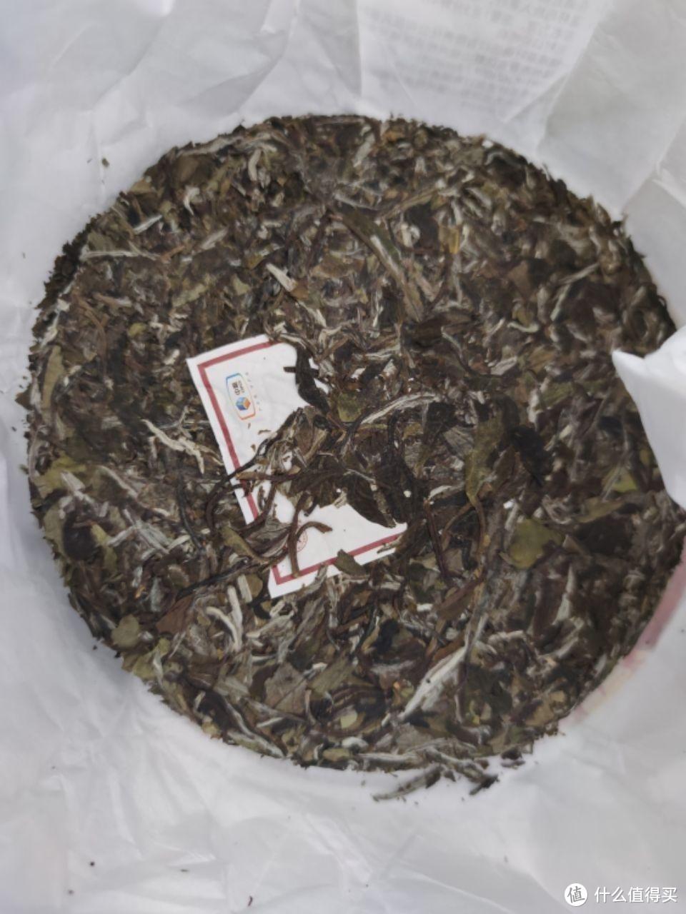 618种草的中粮白茶盛世牡丹。