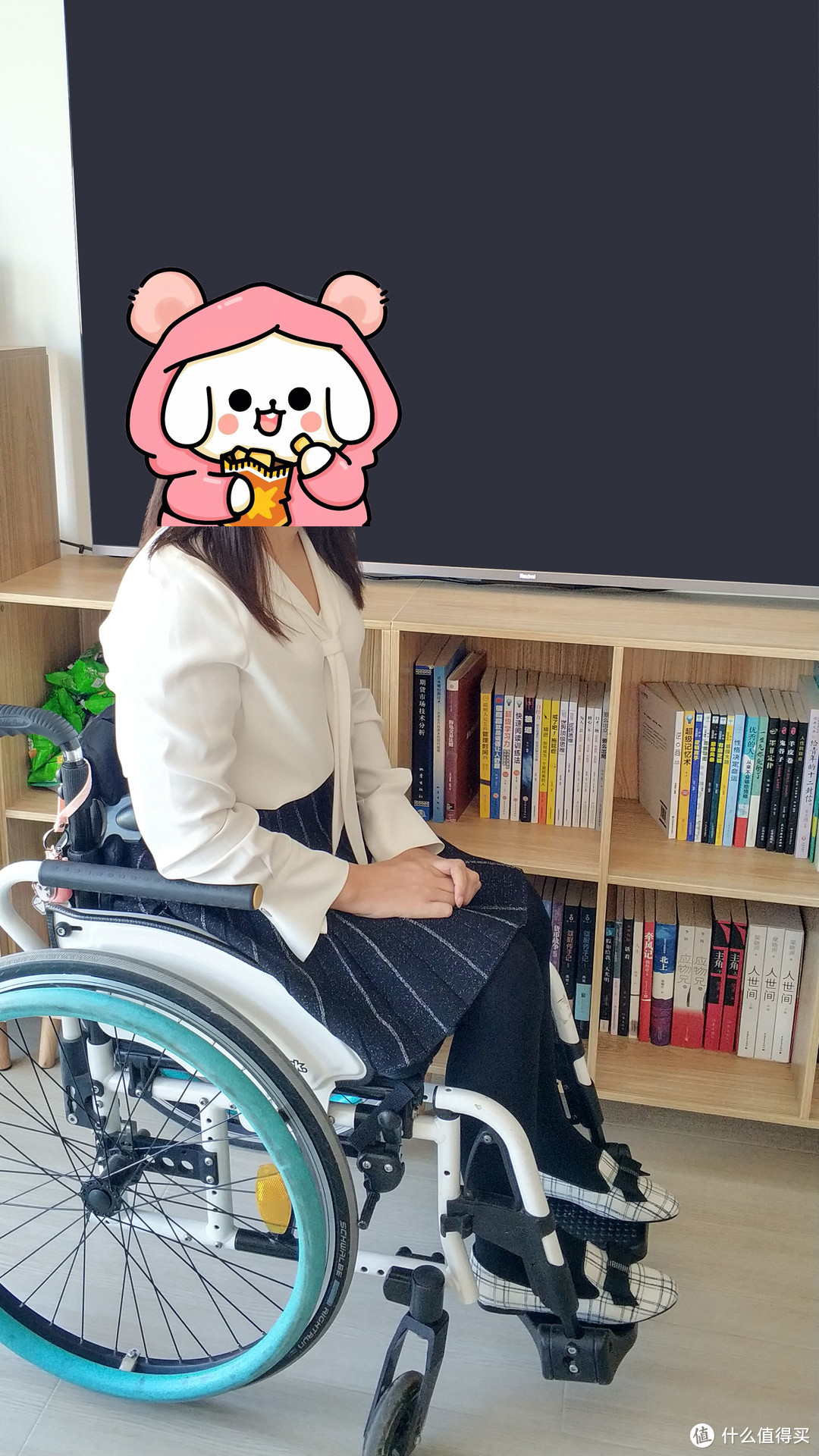 轮椅上的穿搭 篇五:一本正经,夏日严肃三件套