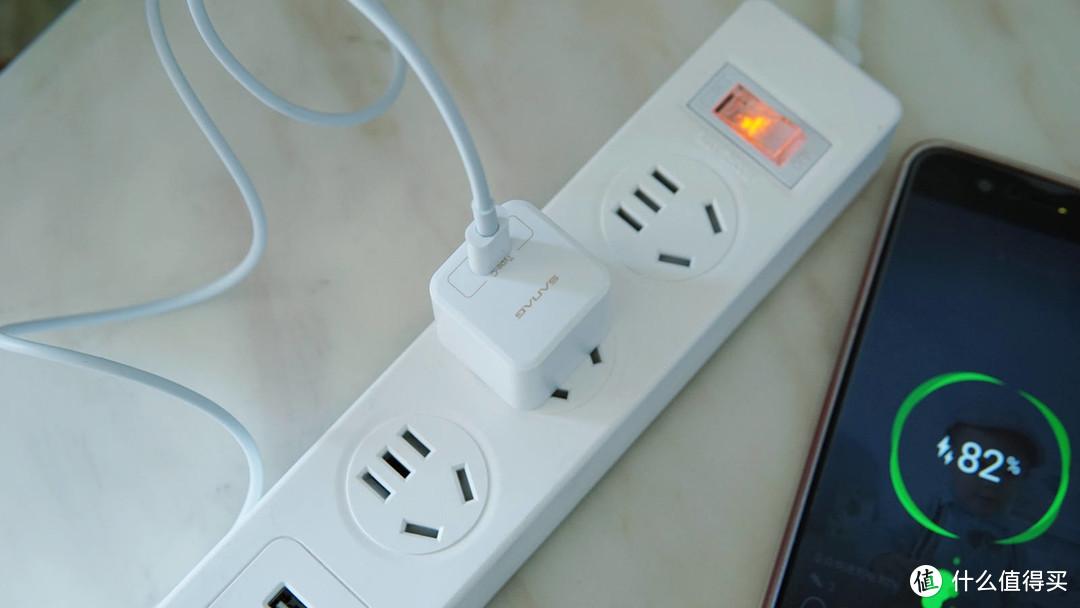 个头小,能量大,sanag-N1充电器体验!