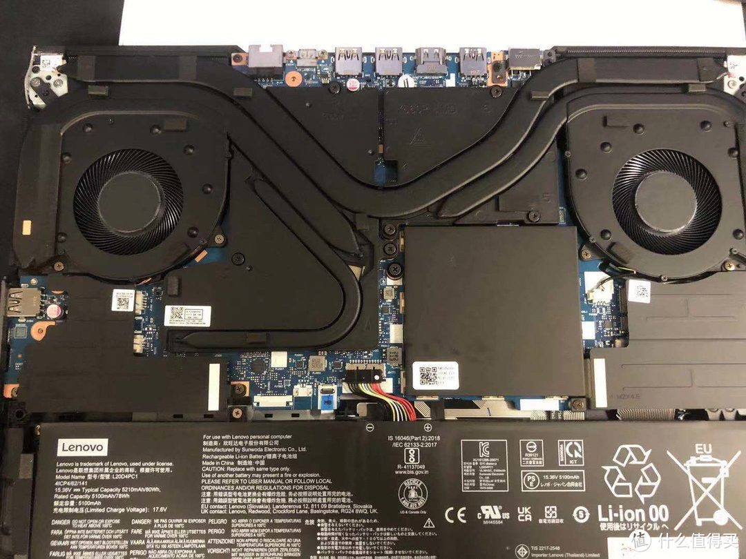 CUP、GPU散热;SSD保护及散热壳;中间方块是内存区域