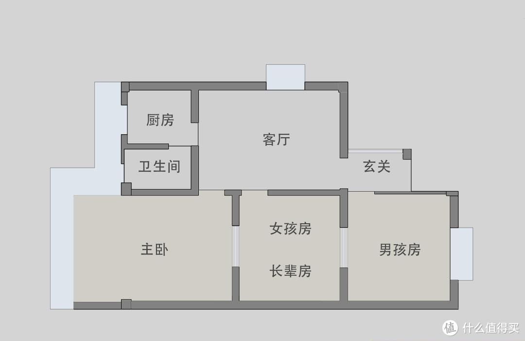 58㎡老破房神级爆改,暗藏27m³收纳,还能轻松住下五口人!