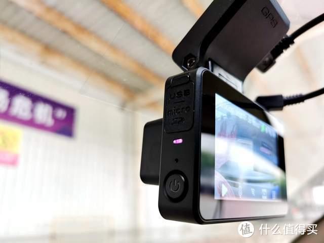 KingSlim 行车记录仪高清夜视,4K超清录影,停车监控倒车影像