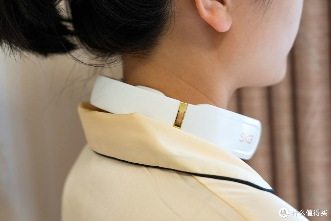 长期久坐的你脖子总是不舒服?试过SKG颈椎按摩仪K6吗?